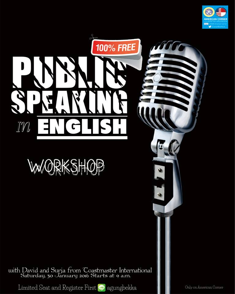 Public Speaking in English