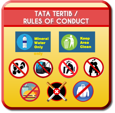 Tata Tertib/ Rules of Conduct